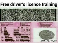 FREE DRIVER TRAINING AT COEGA DEVELOPMEN DRIVING